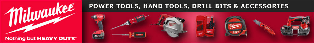 Milwaukee Hand, Power Tools and Accessories